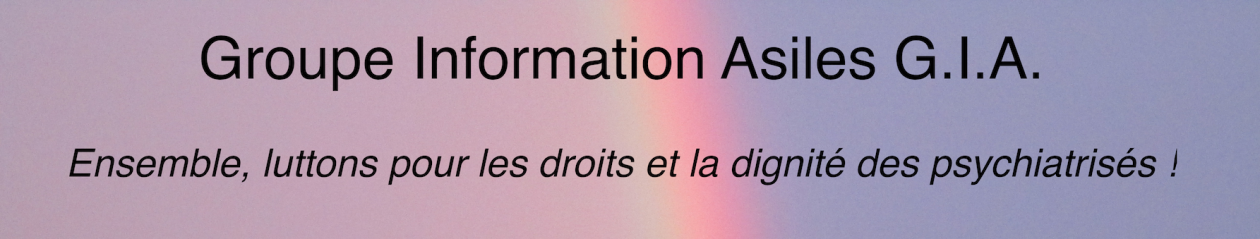 Groupe Information Asiles